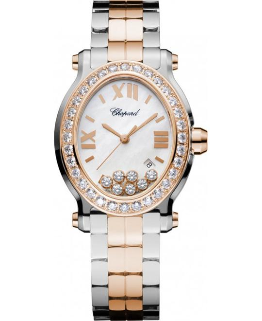 Chopard Happy Sport 278546-6004 18k Diamonds 33.6x30.75