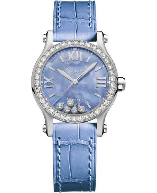 DONG HO NU CHOPARD HAPPY SPORT 278573-3010 AUTOMATIC DIAMONDS 339,200,000