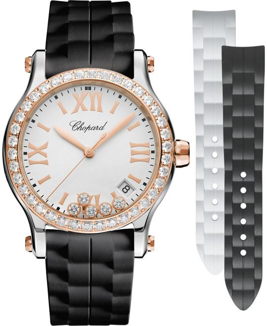 Chopard Happy Sport 278582-6003 18k Rose Gold 36