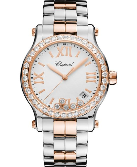 Chopard Happy Sport 278582-6004 18k Diamonds 36mm
