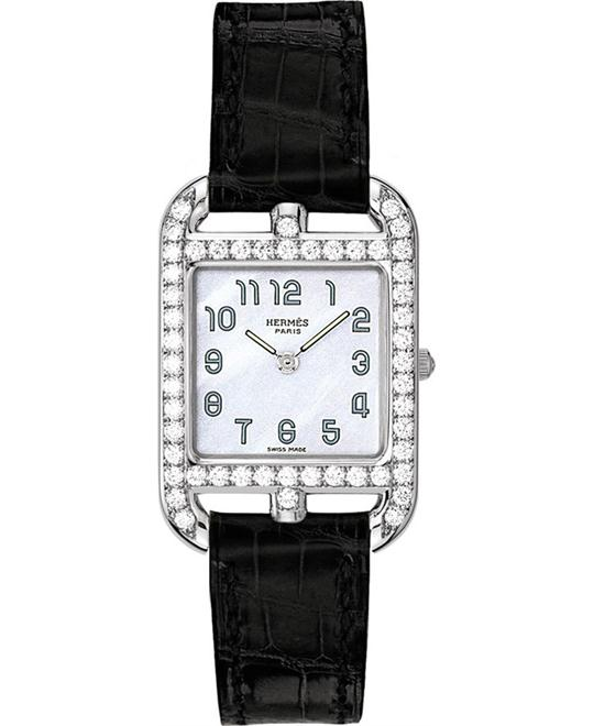 Hermes Cape Cod 040272ww00 Small PM Watch 23mm