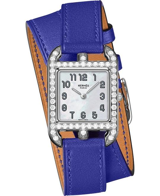 Hermes Cape Cod 043627ww00 Small PM Watch 23mm