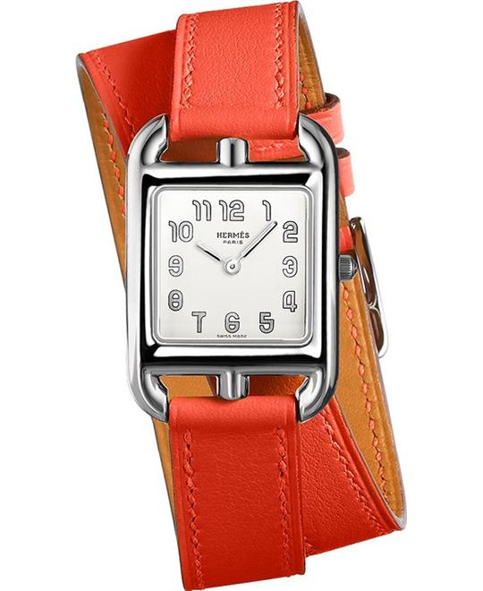 Hermes Cape Cod 043682ww00 Small PM Watch 23mm