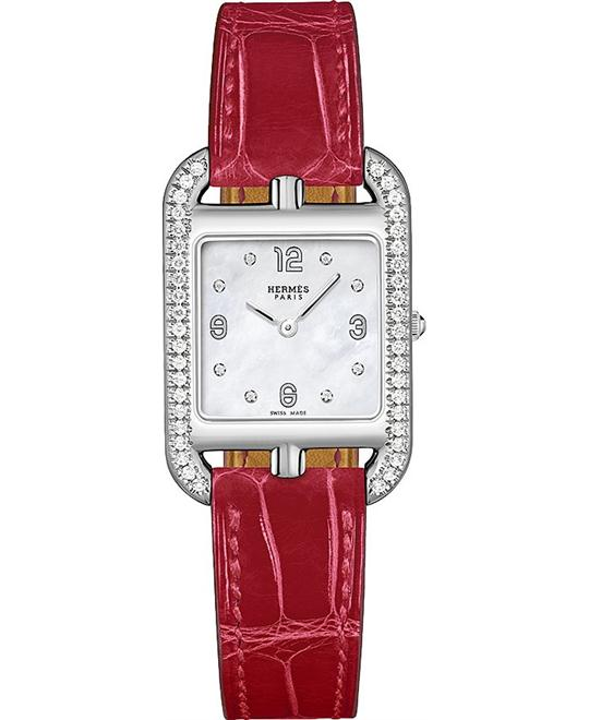 Hermes Cape Cod 044223ww00 Small PM Watch 23mm