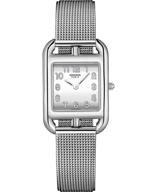 Hermes Cape Cod 045766ww00 Small PM Watch 23mm