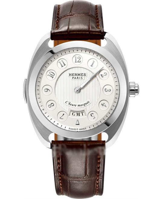 Hermes Dressage 040634ww00 L'Heure Masquee Limited 40.5mm