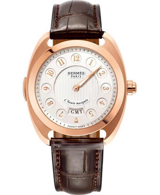 Hermes Dressage 040645ww00 L'Heure Masquee Limited 40.5mm