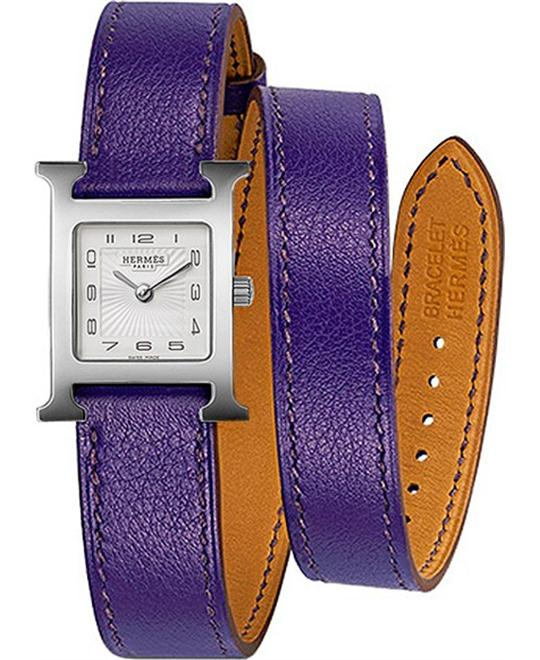 đồng hồ nữ Hermes H Hour 036715WW00 Small PM 21mm