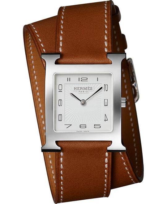 đồng hồ nữ Hermes H Hour 036809WW00 Medium MM 26mm X 26mm