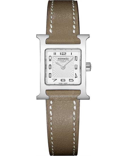 đồng hồ nữ Hermes H Hour 037883WW00 Petite TPM 17.2mm