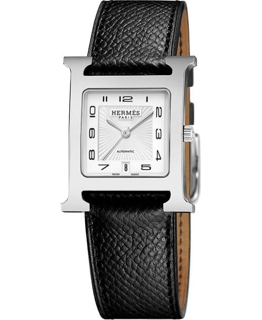Hermes H Hour 039939ww00 Automatic Medium MM 26.4mm