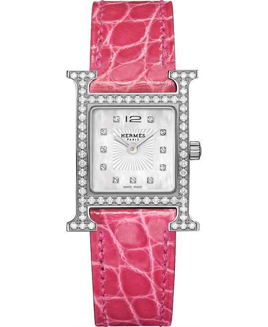dong ho Hermes H Hour 036766ww00 Watch 21x21mm