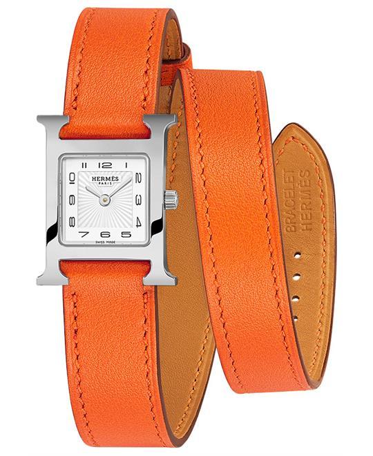 dong ho Hermes H Hour 039363WW00 Petite TPM 17.2x17.2mm