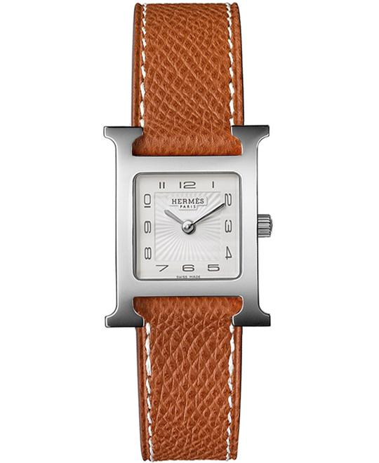 Hermes H Hour 036702WW00 Small PM Watch 21x21mm