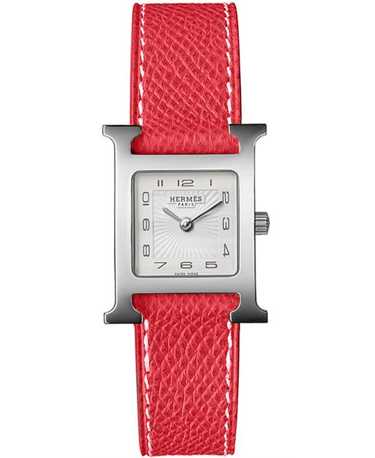 Hermes 038276WW00 Heure H Collection Small PM Watch 21x21mm