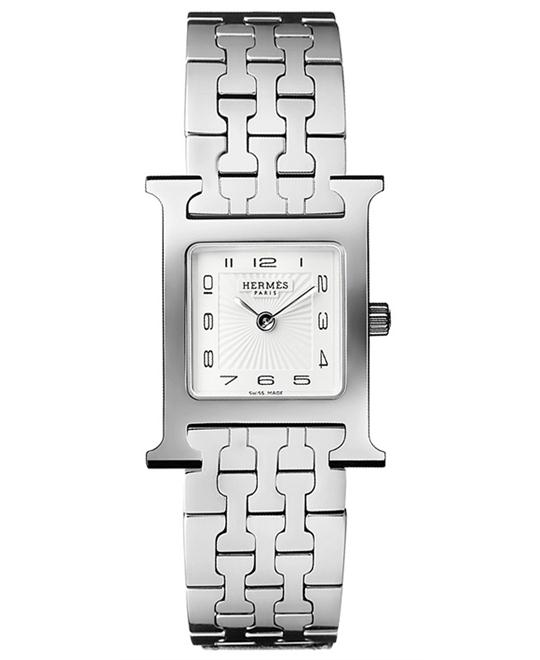 Hermes H Hour 036701WW00 PM Watch 21x21mm