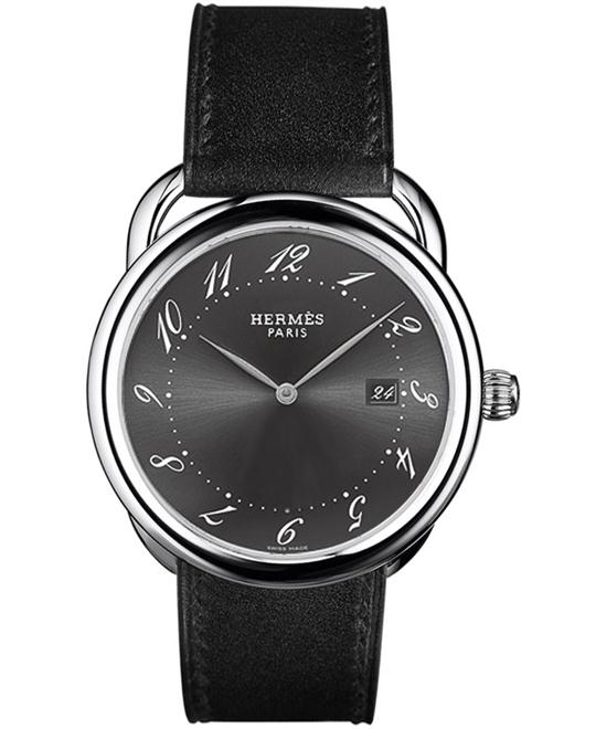 Hermes Arceau 026863WW00 GM Midsize 38mm