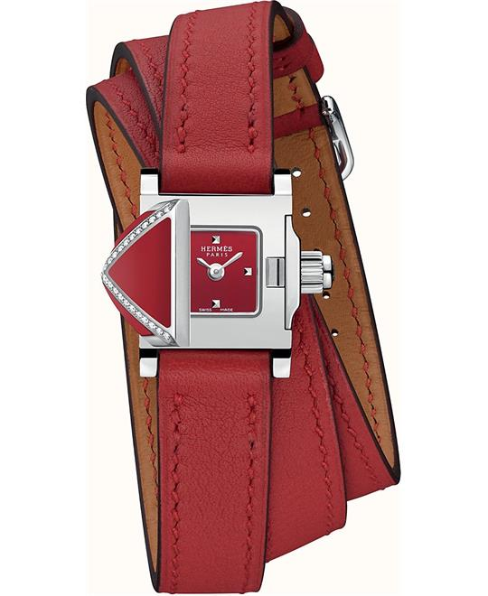 Hermes Medor Rock W046351WW00 Cross Watch 16x16mm
