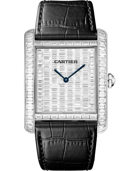 Cartier Tank HPI00623 High Jewelry Watch 34.3