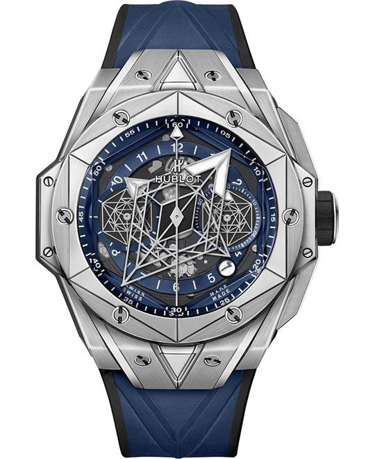 MSP: 92266 HUBLOT BIG BANG 418.NX.5107.RX.MXM20 SANG BLEU II 45mm