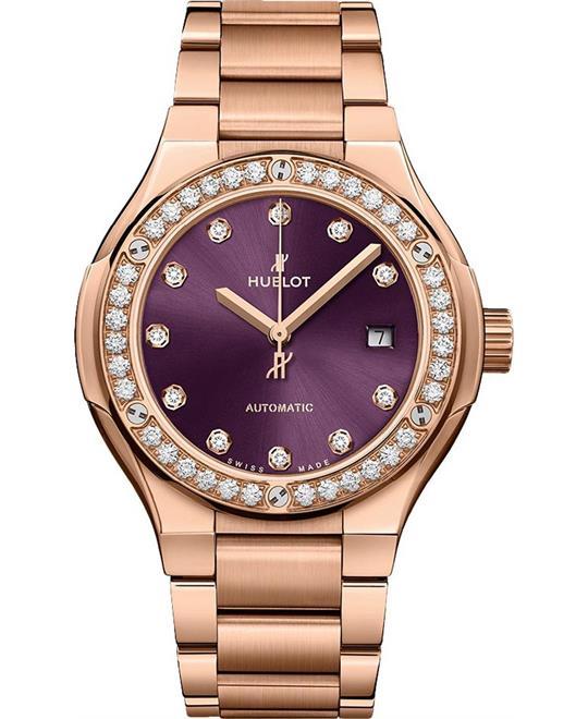đồng hồ nữ Hublot Classic Fusion 585.OX.898V.OX.1204 Watch 33mm
