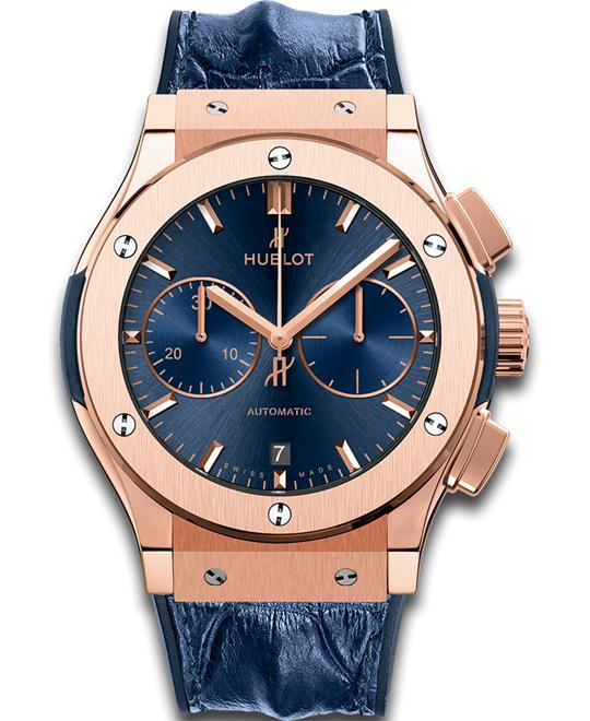 CLASSIC FUSION 521.OX.7180.LR BLUE CHRONO KING GOLD 45
