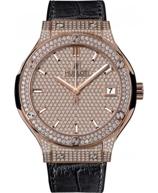 Hublot Classic Fusion Diamonds Pavé 565.OX.9010.LR.1704 38mm