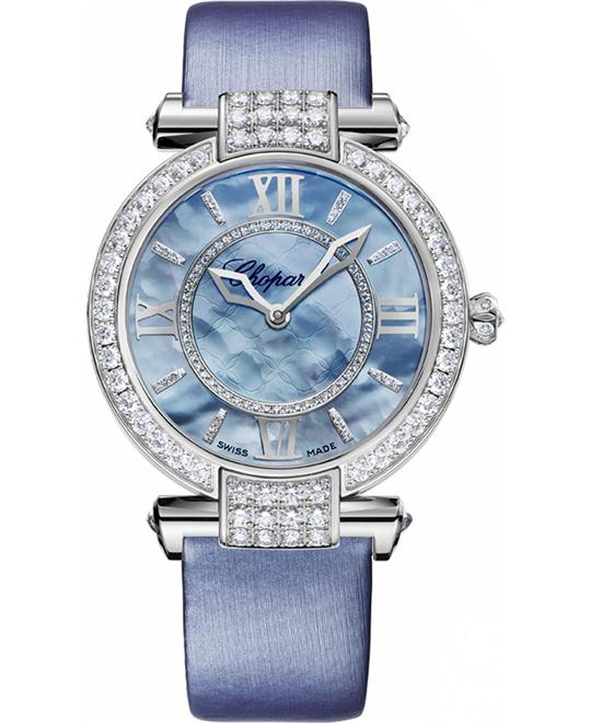 Chopard Imperiale 384242-1005 18k White Diamonds 36mm