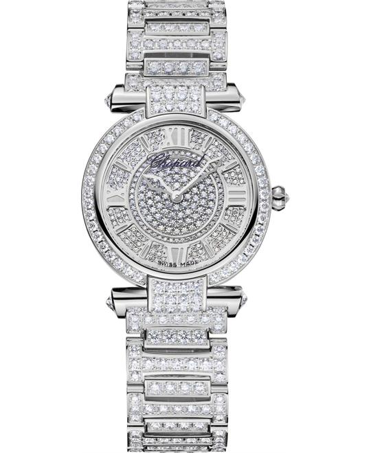 dong ho kim cuong nữ IMPERIALE 384280-1002 18K WHITE AND DIAMONDS 28MM 3,171,070,000