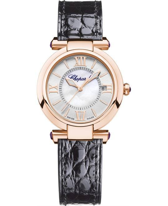Chopard Imperiale 384319-5001 Auto 18k Amethysts 29