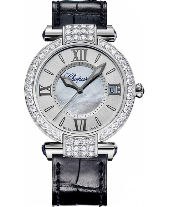 IMPERIALE 384822-1002 18K SAPPHIRES AND DIAMONDS 36MM