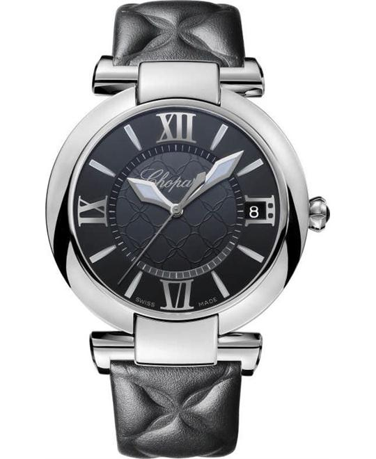 Chopard Imperiale Stainless And Onyx Watch 40mm