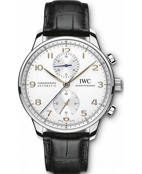 IWC Portuguese 3714-45 Chronograph Watch 40.9mm