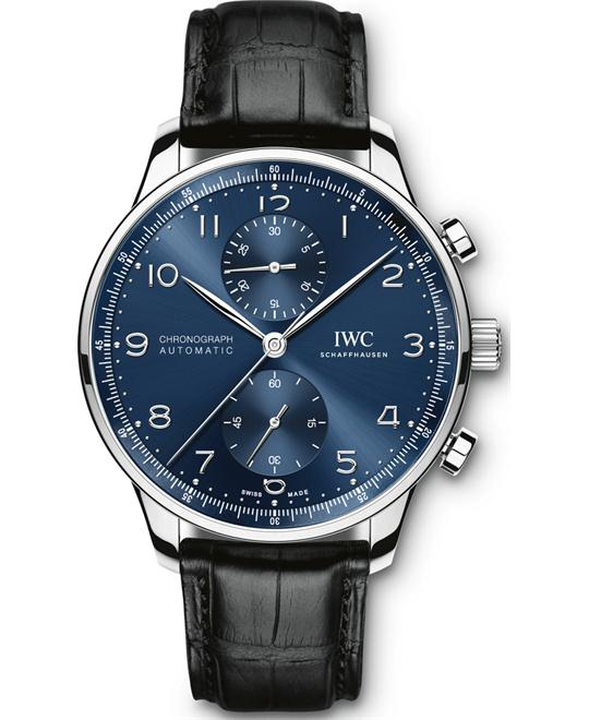 đồng hồ IWC IW371491 Portugieser Chronograph Blue Watch 40.9mm