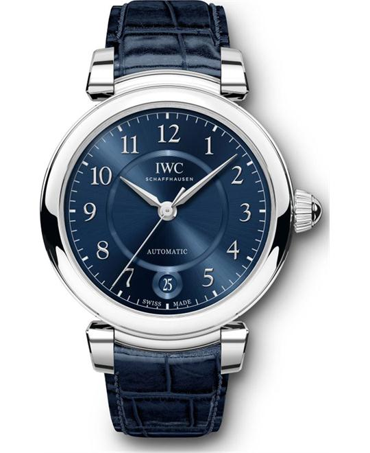 IWC Da Vinci IW458312 Blue Automatic Watch 36MM