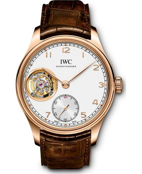 IWC PORTUGIESER IW546302 TOURBILLON WATCH 43.2