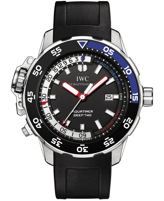 IWC iw354702 Mens Rubber Stainless Steel 46mm