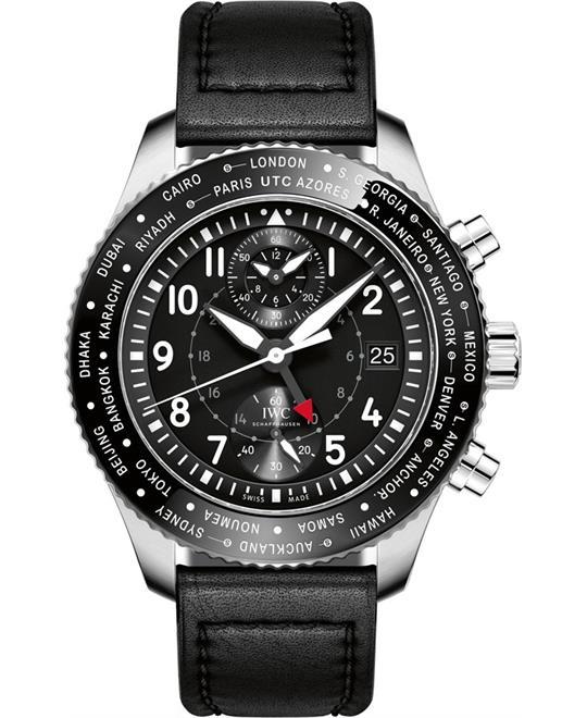 đồng hồ giờ thế giới IWC Pilot's Timezoner Automatic 46mm