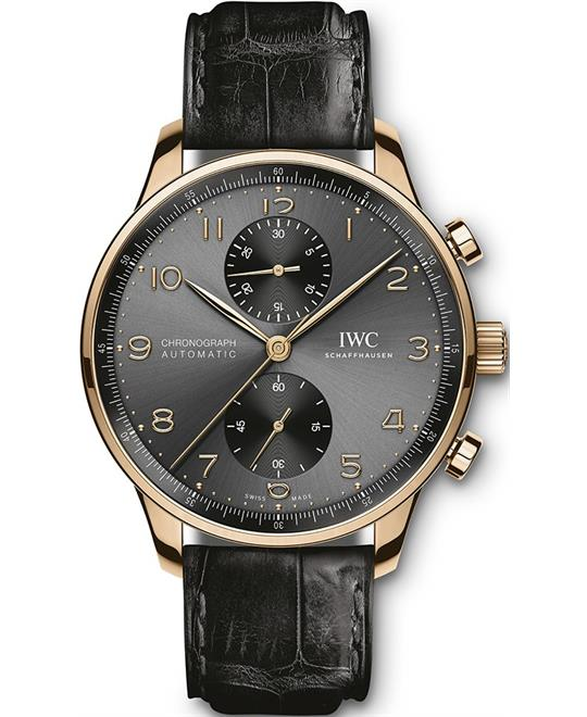 đồng hồ nam automatic chronograph IWC Portugieser IW371610 Watch 41mm
