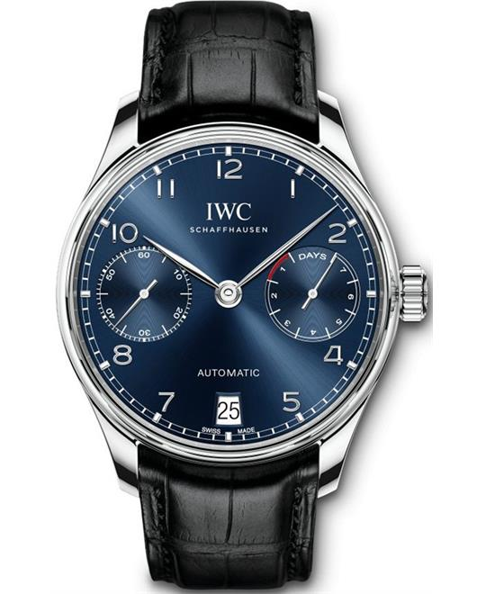 đồng hồ nam automatic 4 kim  IWC Portugieser IW500710 Automatic Watch 42.3mm