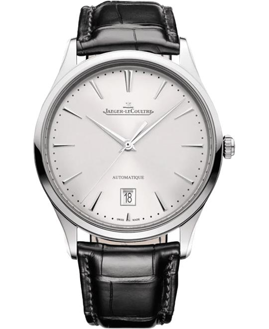 Jaeger LeCoultre Aster 1238420 Ultra Thin Date Watch 39mm