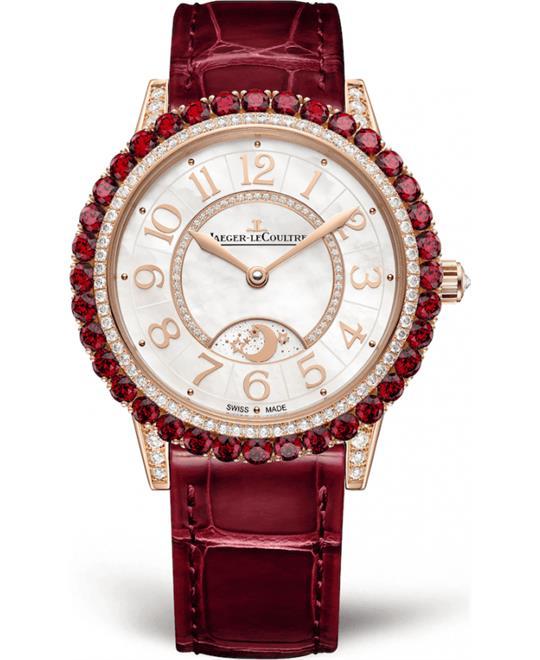 đồng hồ nữ màu đỏ Jaeger-Lecoultre Q343257J Dazzling Rendez-Vous Watch 36mm