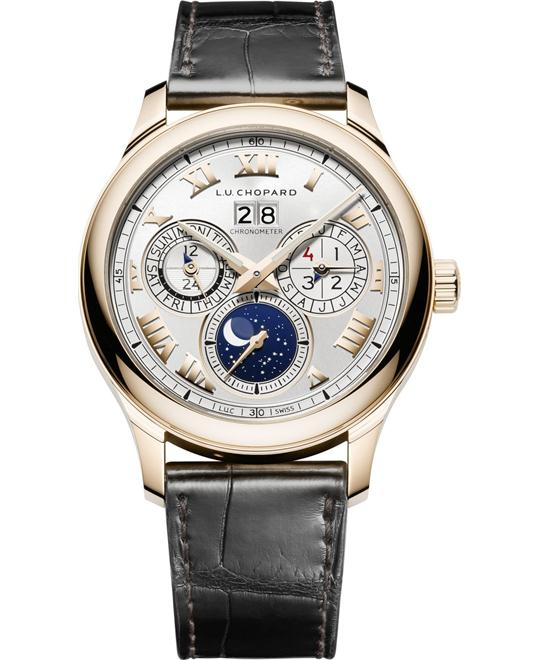 Chopard L.U.C Lunar 161927-5001 One 18k Rose Gold 43