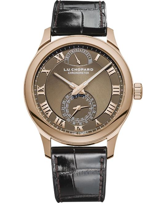 Chopard L.U.C Quattro 161926-5003 18k Rose Gold 43
