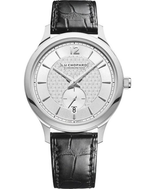 Chopard L.U.C Xps 1860 Officer 161242-1001 18k Limited 40