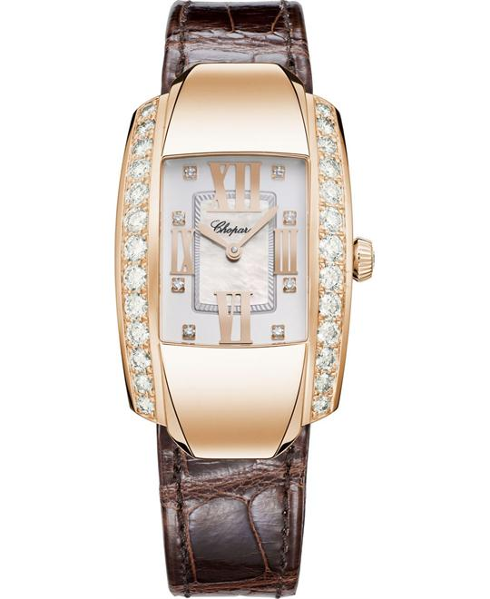 đồng hồ LA STRADA 419402-5004 18K ROSE AND DIAMONDS 44.80 x 26.10