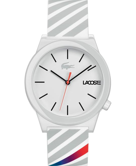 Lacoste Casual Plastic and Rubber Watch 41.5mm
