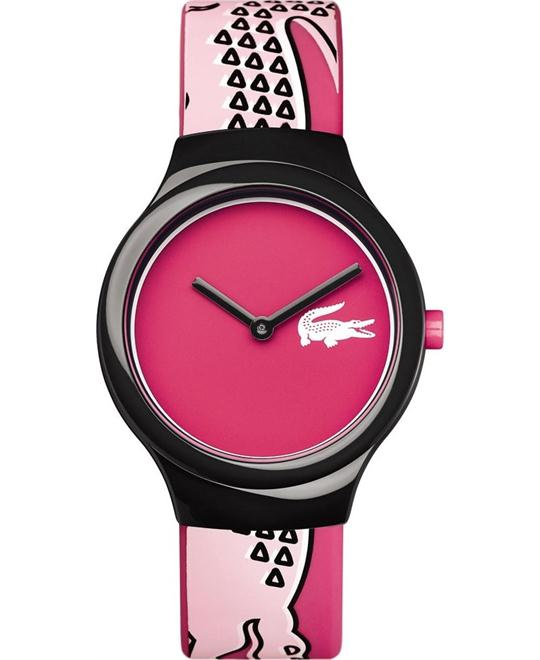 Lacoste Goa Analog Display Pink Watch 40MM