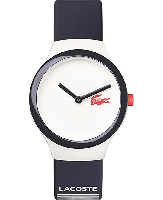 Lacoste Goa Unisex Blue Silicone Strap Watch 35mm