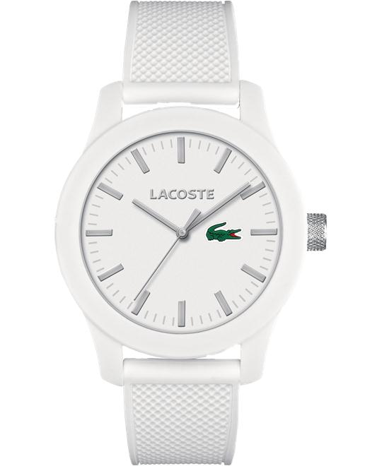 Lacoste Men's Silicone Strap Watch 43mm